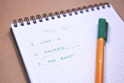 Build automatic habits that don't require a conscious decision.