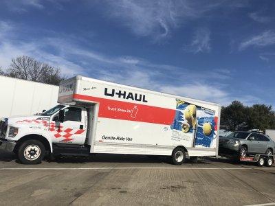 The truck I drove to Denver