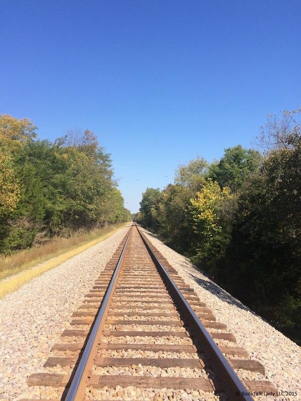 Get on board railroad track